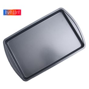 Nonstick Bakeware Rectangular Baking Pan Cookie Sheets Roasting Pan Professional for Oven Easy Clean Baking Tray